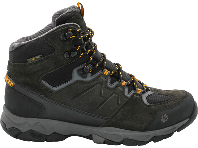 Jack Wolfskin MTN Attack 6 Texapore Chaussures Homme, burly yellow